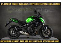 2014 14 KAWASAKI ER-6F EEF 650CC 0% DEPOSIT FINANCE AVAILABLE