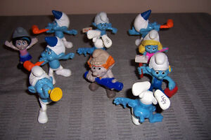 Simpson Miniatures and Smurf Lots $15 Each Cornwall Ontario image 2
