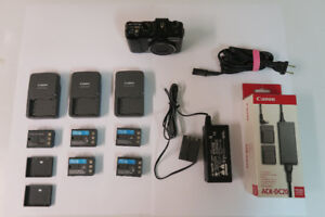 Canon G9 Parts Camera plus Chargers, Batteries and AC Adapter