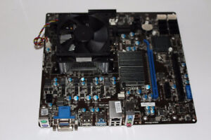 MSI 760GMA-P34 (FX) Desktop Motherboard AM3+ with FX-8120 3.1Ghz