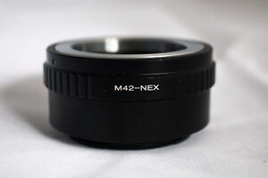 "M42 & ""C"" AdapterS for Sony NEX E-Mount"