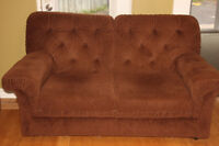 Comfy brown couch in very good condition