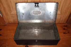 Old Tin Document Box London Ontario image 8