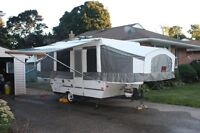 10 ft Palamino Tent Trailer - 2007 - With Bike Rack