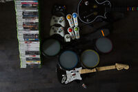 Xbox 360 with 40+ games and accessories