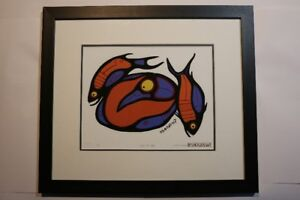 Norval Morrisseau - Serigraph 'Images and Myths'