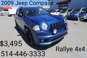 2009 Jeep Compass Rocky Mountain SUV, Crossover 4x4