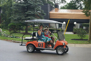 Dukes of Hazzard Golf Cart