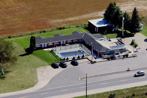 Motel rooms $49.99/night or $200/week near Port Elgin