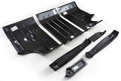 64-67 Chevelle Trunk Floor KIT Center Left Right Gas & Body Braces Golden Star Chevelle Trunk Floor Braces