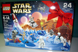 LEGO  282 piece  Star Wars Advent Calendar   75146 - NEW