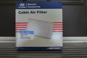 Cabin Air Filter and Wheel Locks