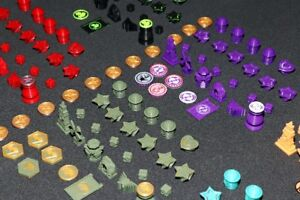 Scythe 3D deluxe custom printed player and game components
