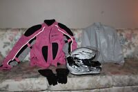 Ladies Motorcycle Jackets, Helmut and Gloves