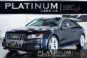 2009 Audi S5 QUATTRO/ S-LINE/ MAGNA RED LEATHER/ 6 SPEED MANUAL