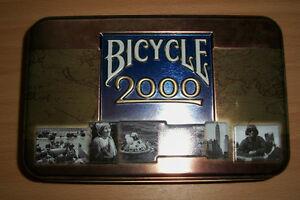 Tin, Bicycle cards 2000