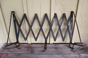 Old Antique Running Board Luggage Rack for Model A/T
