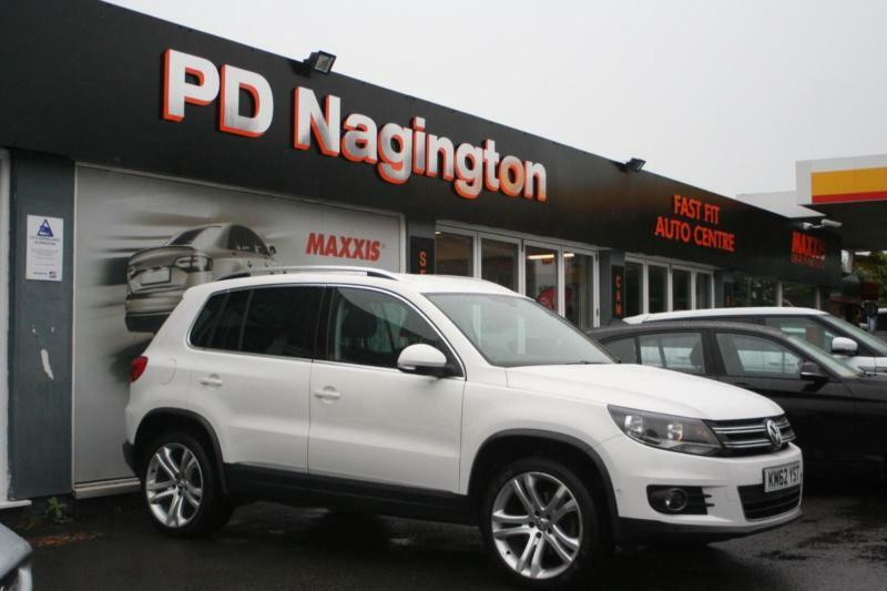2013 VOLKSWAGEN TIGUAN 2.0 TDi Sport 170 + ZERO DEPOSIT FINANCE AVAILABLE
