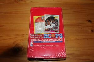 1990-91 NBA Hoops Basketball Wax Box - Factory Sealed