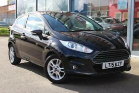 2015 FORD FIESTA 1.25 82 Zetec ALLOYS, HTD SCREEN and BLUETOOTH