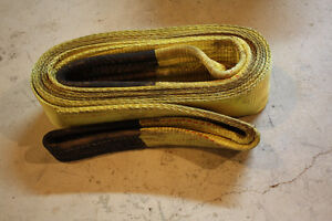 Heavy duty tow recovery straps London Ontario image 3