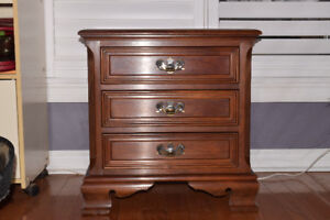 Cherry wood chest cabinet
