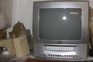TV with built in VCR