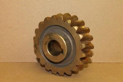 "Worm gear 596.395.1, 435.5197A, 1"" bore"