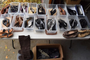 Women's Shoe Lot - Like New -$5 a pair - 28 pieces Sizes 8.5 - 9