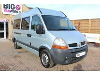 2006 RENAULT MASTER MM33 DCI 100 MWB MEDIUM ROOF 8 SEAT MINIBUS WITH WHEELCHAIR