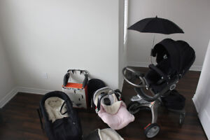 Stokke xplory (full package)& Graco Classic Connect 30 car seat