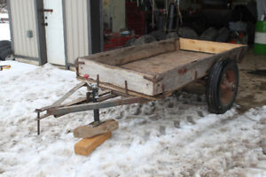 Rustic Trailer for Sale