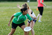 Spring & Summer Ultimate Frisbee Leagues