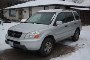 2003 Honda Pilot SUV  as is little needed for safety
