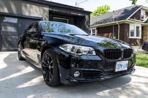 Blacked out BMW 535 X drive
