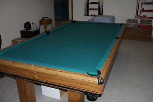 pool table, etc for sale
