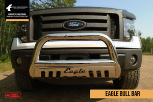 Stainless Steel Bull Bars - FORD DODGE GM CHEV NISSAN TOYOTA