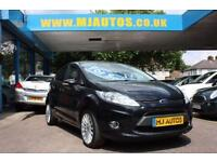 2012 12 FORD FIESTA 1.4 TITANIUM 5DOOR PANTHER BLACK