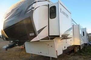 2014 LAREDO 329RE - Fifth Wheel Rear Entertainment Regina Regina Area image 1