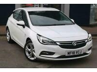2018 Vauxhall Astra 1.4T 16V 150 SRi 5dr Auto Hatchback Hatchback Petrol Automat