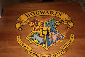 Table d'Harry Potter