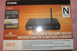 NEW WIRELESS ROUTER & NEW WEBCAM