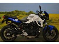 BMW F800R ** ABS, TANK PAD, HEATED GRIPS, FLY SCREEN **