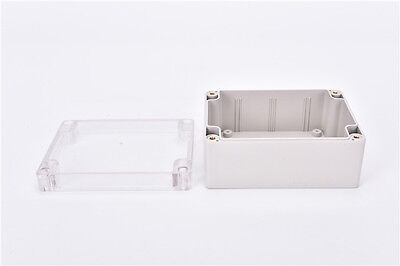 Waterproof 1159055mm Clear Cover Plastic Electronic Project Box Enclosure Nius