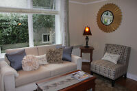 Beautiful James Bay furnished one bedroom suite