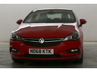 2018 Vauxhall Astra 1.6 CDTi Elite Hatchback Diesel Manual