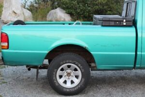 FORD RANGER TRUCK BOX       VERRY GOOD SHAPE