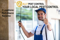 Port Alberni's ONLY local pest control service. FAST