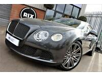 BENTLEY CONTINENTAL GT SPEED-FULL BENTLEY SERVICE HISTORY NAIM SOUND