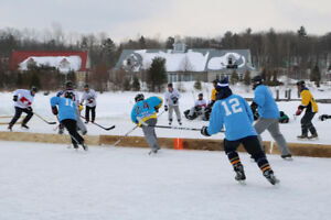 Muskoka Pond Hockey Tournament 12th Annual